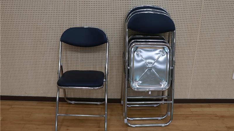 접이식 의자 사진